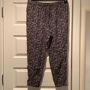 Uniqlo Pants - Uniqlo Floral Pants